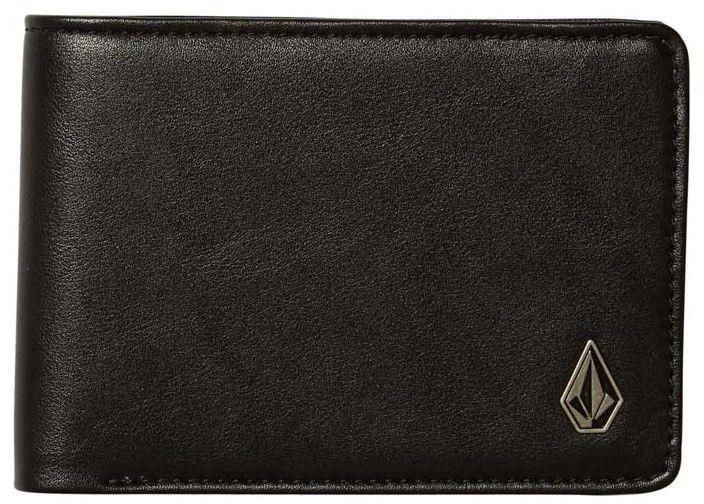 portfel VOLCOM - Stranglong Pu Wallet Black (BLK)