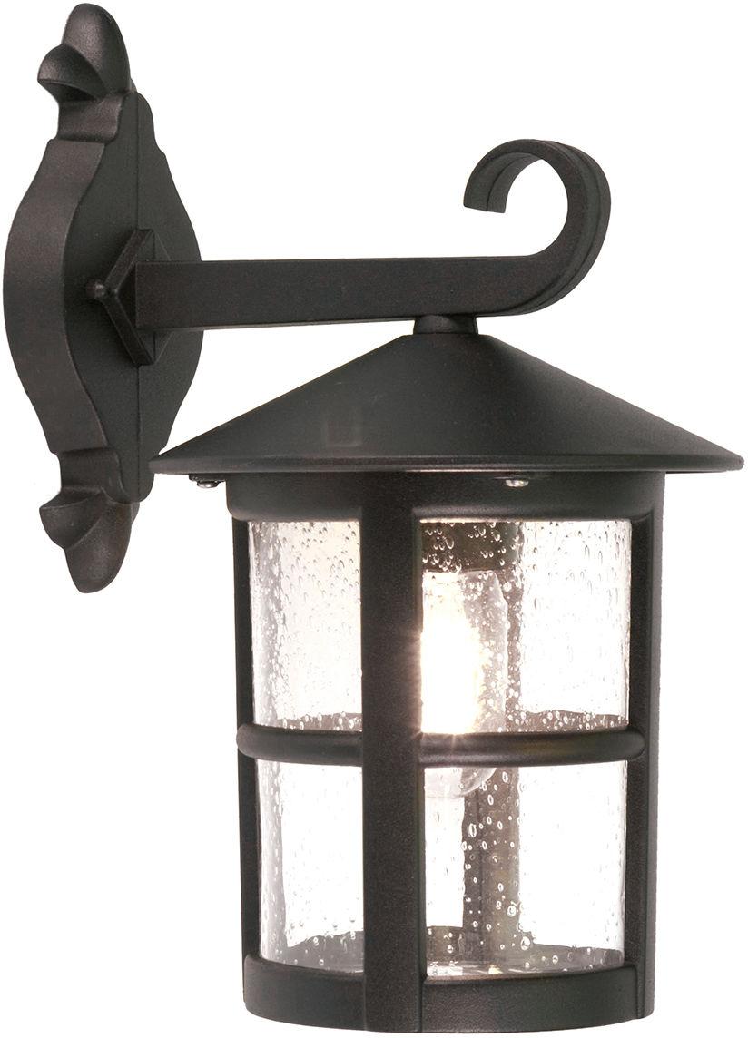 Kinkiet zewnętrzny Hereford BL21 Elstead Lighting klasyczna oprawa w kolorze czarnym