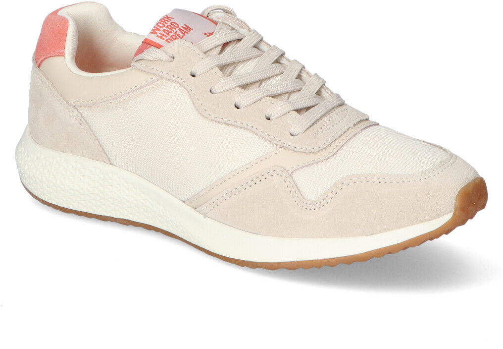 Sneakersy Tamaris 1-23765-26 Piaskowe zamsz