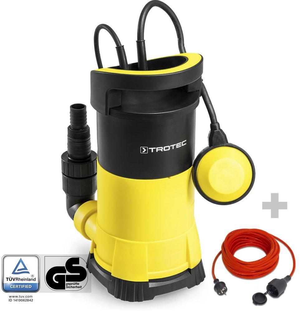 Pompa zanurzeniowa do wody czystej TWP 7505 E + Przedłużacz jakościowy 15 m / 230 V / 1,5 mm