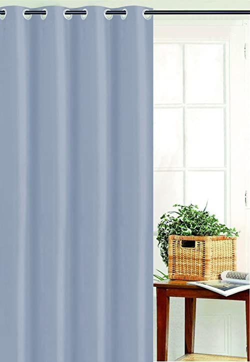 HomeMaison Zasłona z płótna żaglowego, poliester, perła, 250 x 135 cm