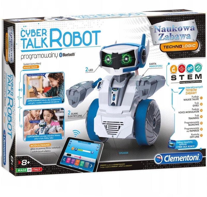 Clementoni - Cyber Mówiący Talk Robot 50122