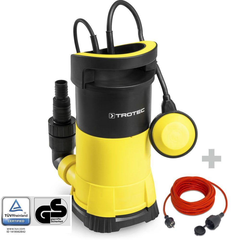 Pompa zanurzeniowa do wody czystej TWP 9005 E + Przedłużacz jakościowy 15 m / 230 V / 1,5 mm
