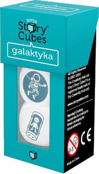 Story Cubes: Galaktyka ZAKŁADKA DO KSIĄŻEK GRATIS DO KAŻDEGO ZAMÓWIENIA