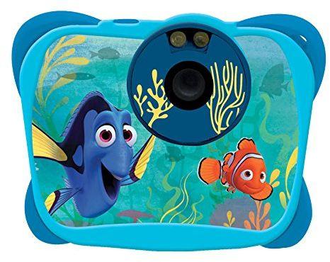 """Lexibook Disney Finding Dory Marlin aparat cyfrowy 5 MP, ekran LCD 1,4"""", funkcje wideo i kamery internetowej, niebieski, DJ134DO"""