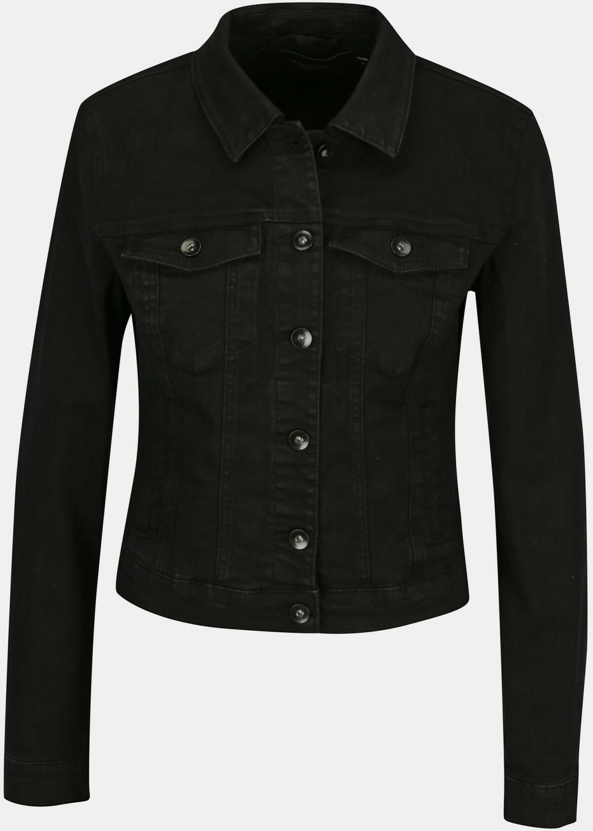 Vero Moda czarny dżinsowa kurtka Hot Soya - XS