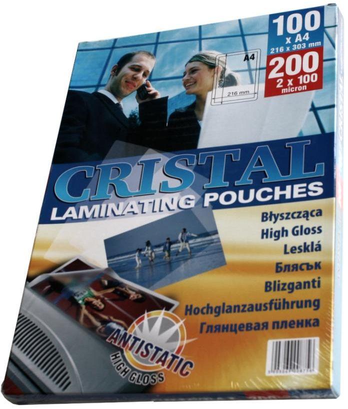 Folia do laminowania A4 Argo Cristal 100 mic