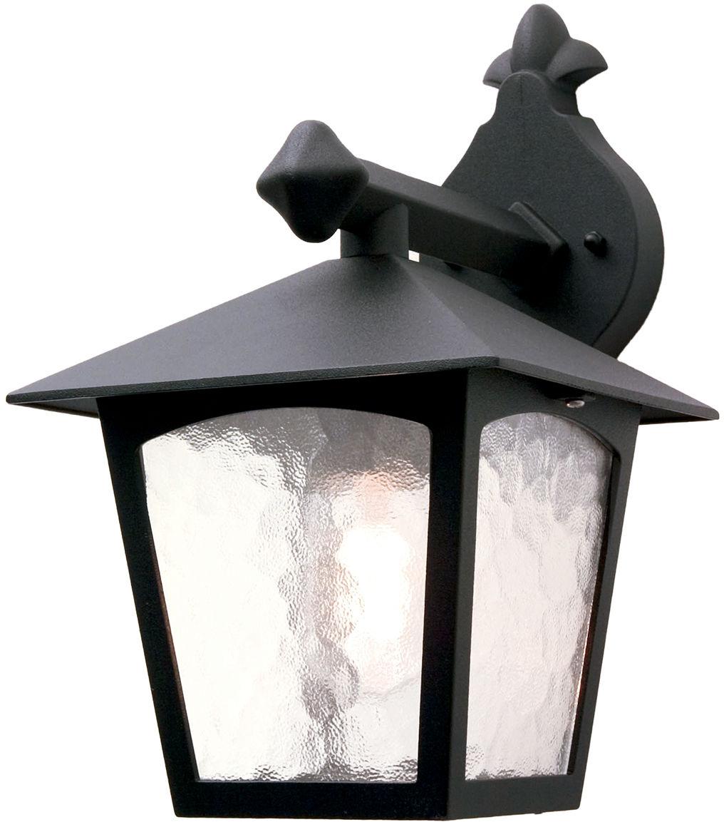 Kinkiet zewnętrzny York BL2 Elstead Lighting klasyczna oprawa ścienna w kolorze czarnym