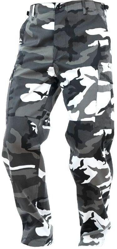 Spodnie wojskowe Mil-Tec wzmacniane BDU Urban (11805022)