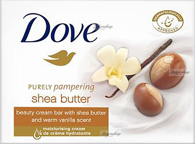 Dove - Shea Butter Beauty Cream Bar - Kremowe mydło w kostce z masłem Shea - 100 g