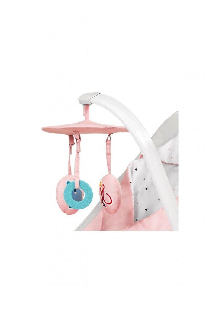 Kinderkraft Felio leżaczek 3w1 pink