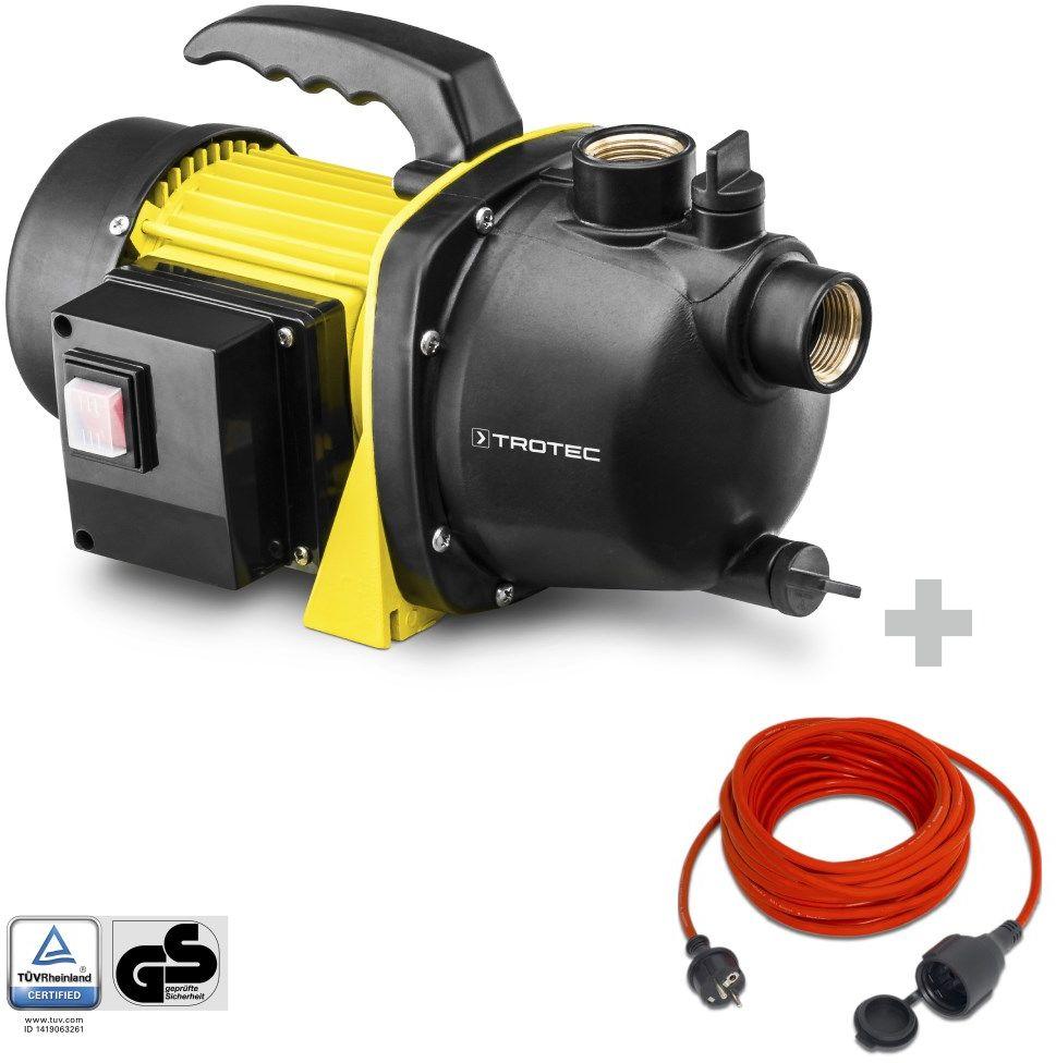 Pompa ogrodowa TGP 1000 E + Przedłużacz jakościowy 15 m / 230 V / 1,5 mm
