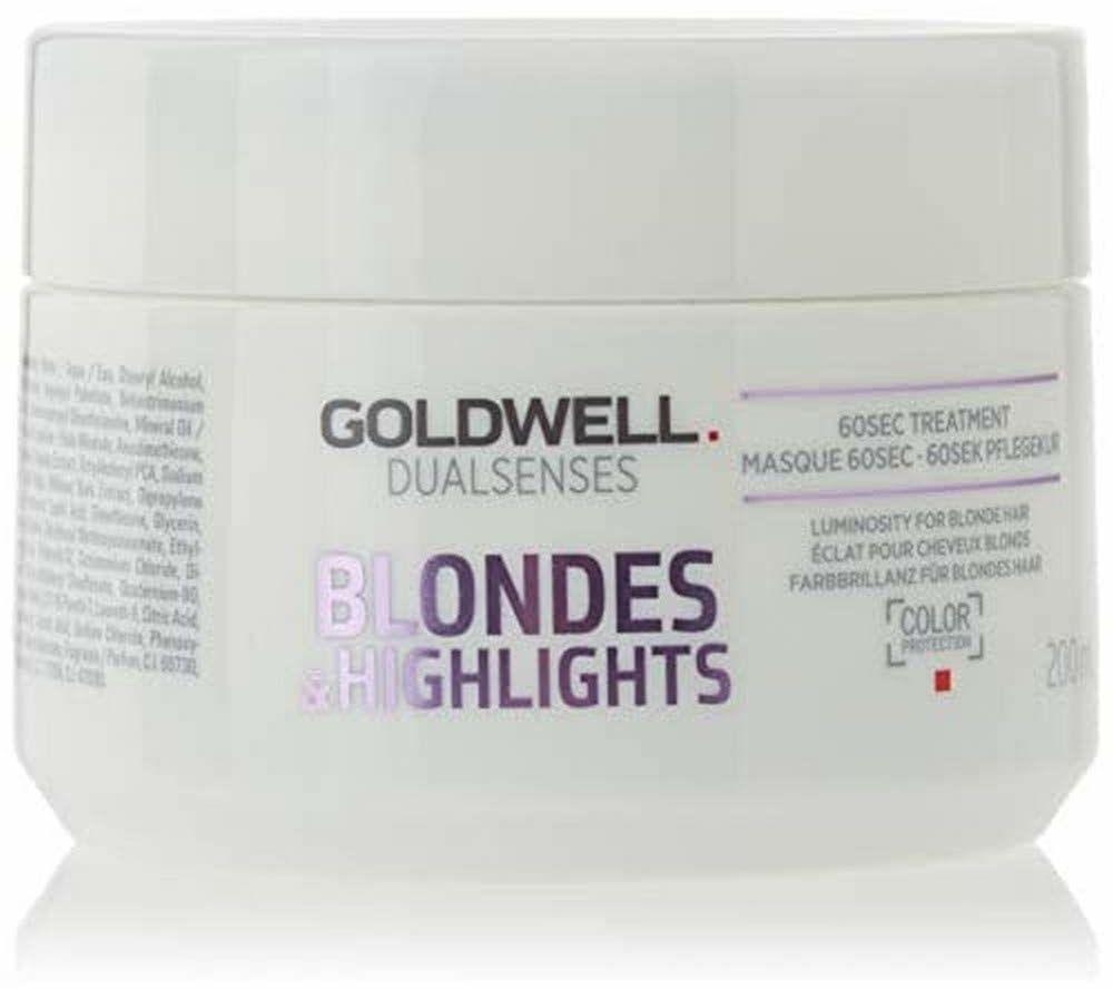 Goldwell Dualsenses blond i rozjaśnienie 60 sekund zabiegu