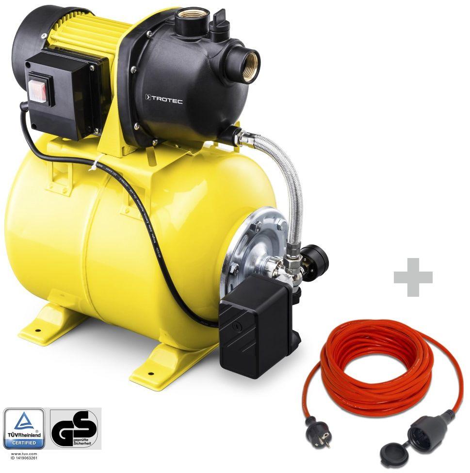 Hydrofor TGP 1025 E + Przedłużacz jakościowy 15 m / 230 V / 1,5 mm