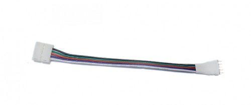 Złączka CLICK pojedyncza do łączenia taśm LED RGBW 12mm ze sterownikiem RGBW + przewód
