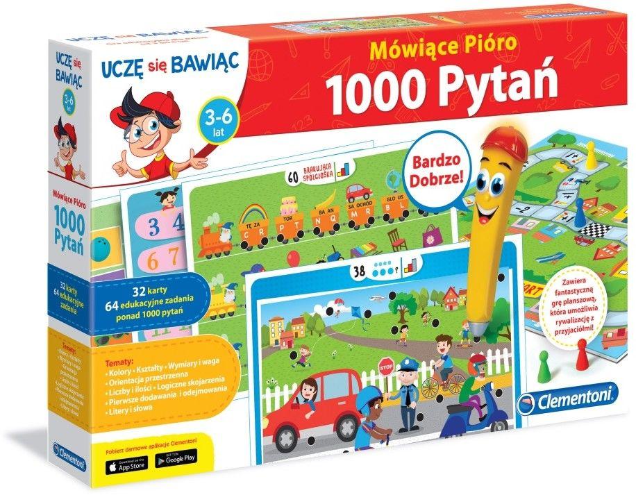 Clementoni - Mówiące Pióro 50 gier edukacyjnych 50650
