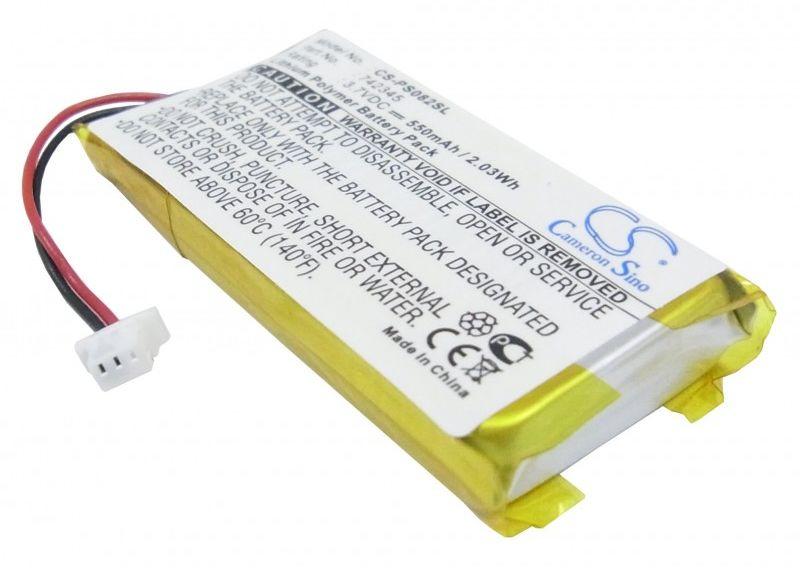 Philips GoGear HDD082/17 2GB / 742345 550mAh 2.04Wh Li-Polymer 3.7V (Cameron Sino)
