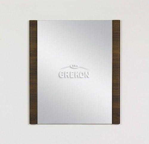 Lustro łazienkowe, kolor wenge matowy 70x80cm, Styl Loftowy, Gante OLIMPIA