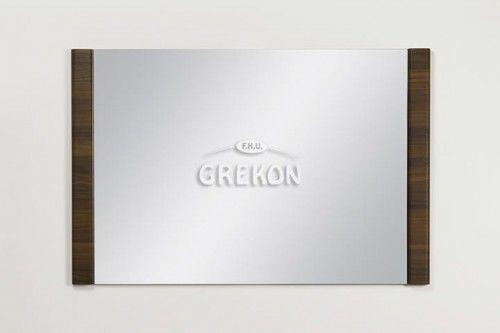 Lustro łazienkowe, kolor wenge matowy 100x65cm, Styl Loftowy, Gante OLIMPIA