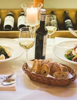 Voucher do włoskiej restauracji  La Campana Trattoria