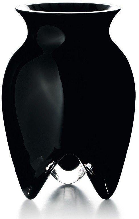 Rosendahl - wazon lin utzon czarny 18 cm