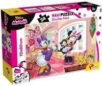 Puzzle dwustronne Supermaxi 24 Myszka Minnie - Lisciani
