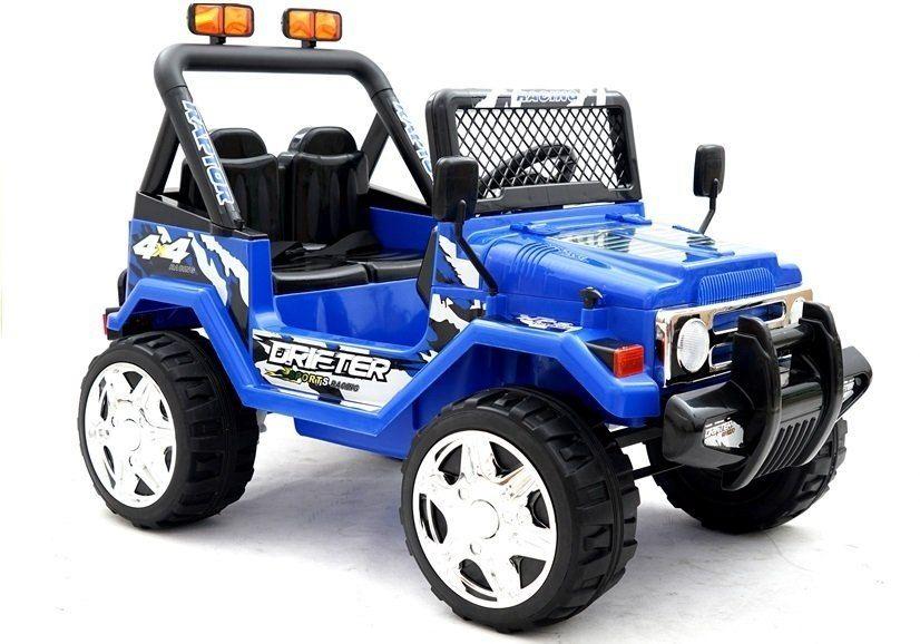 Auto na Akumulator Raptor dwuosobowy Niebieski