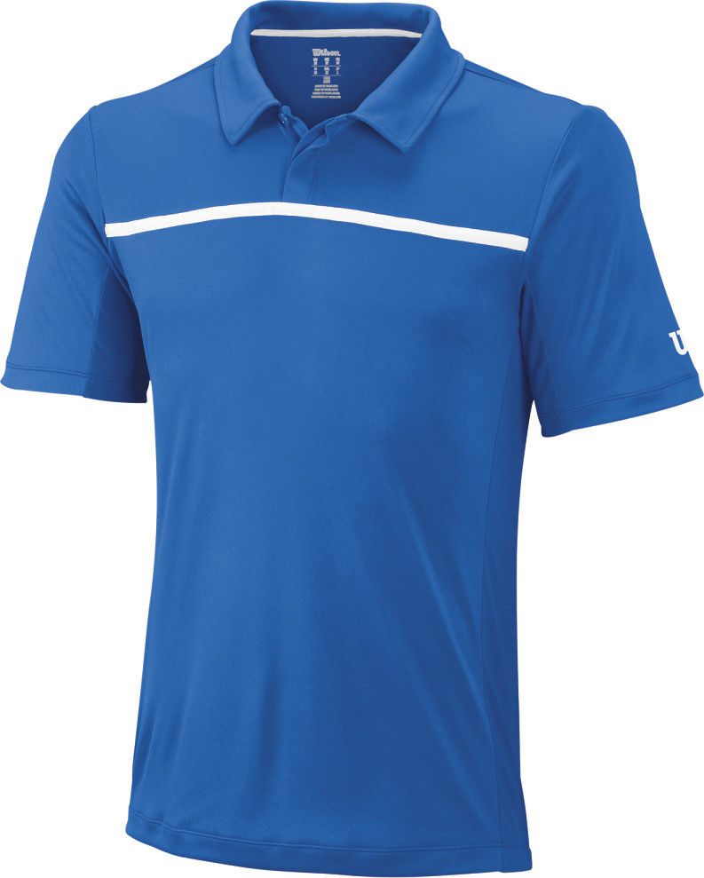 Wilson M Team Polo - new blue
