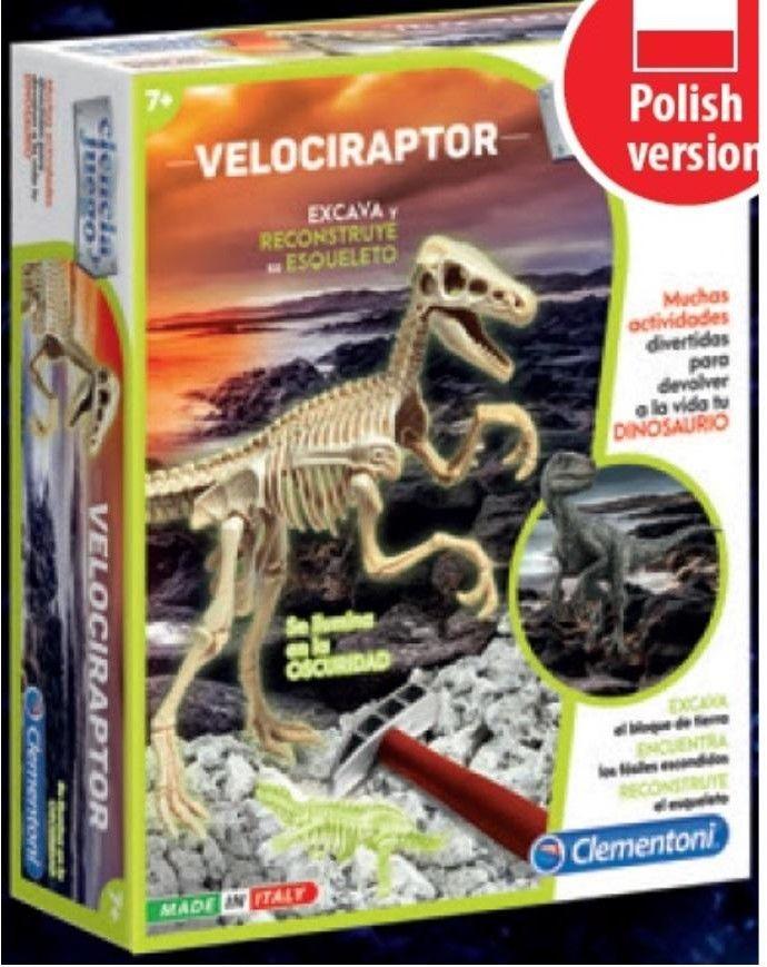 Clementoni - Skamieniałości Welociraptor 50639