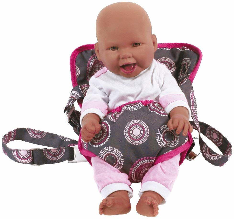 Bayer Chic 2000 782 87 pas do przenoszenia lalki (gorące różowe perły)