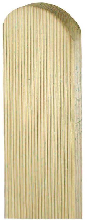 Sztacheta drewniana 150 x 9 x 2 cm ryflowana SOBEX