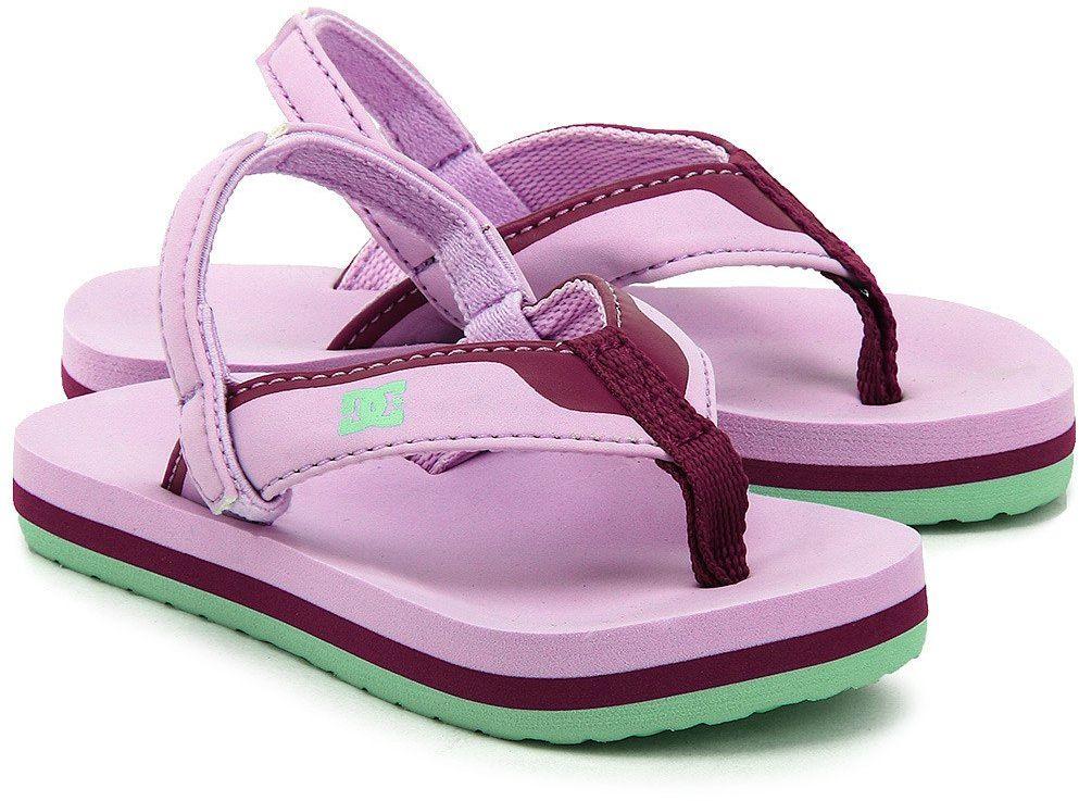 DC Grommet - Sandały Dziecięce - 320143-PUR - Różowy