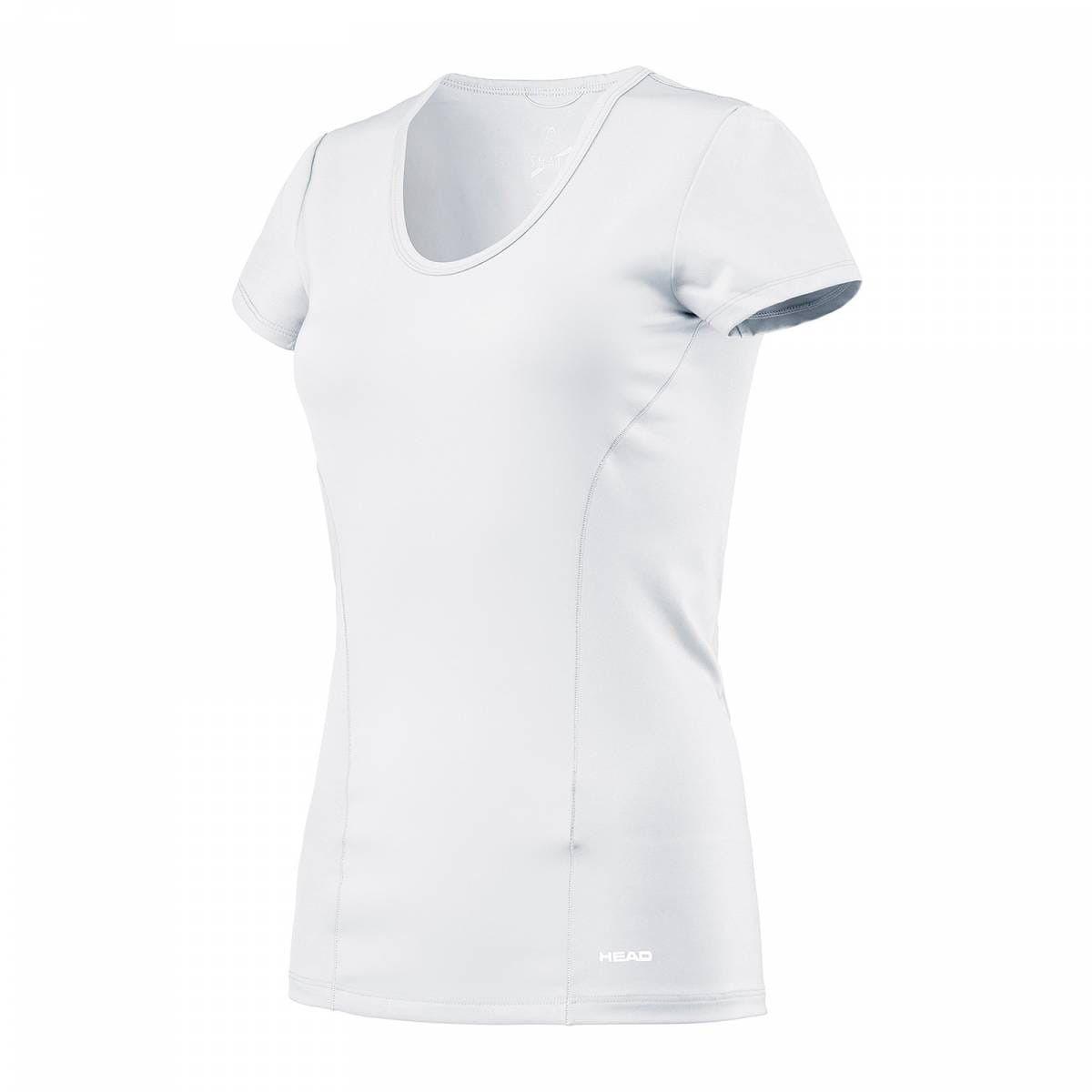Head Vision Shirt W - white