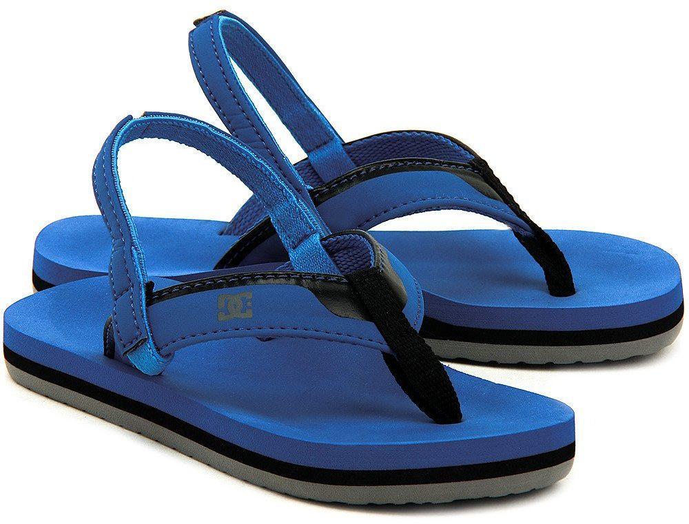 DC Grommet - Sandały Dziecięce - 320143-URB - Niebieski