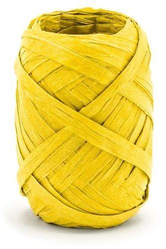 Rafia żółta 5mm 10m RAF1-084