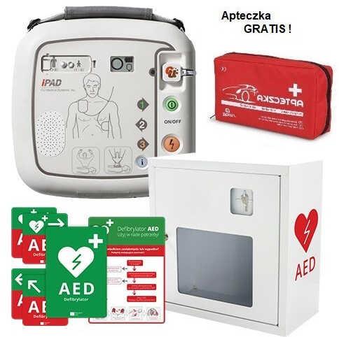 Defibrylator AED iPAD SP1 Zestaw