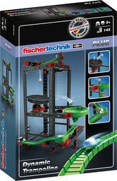 fischertechnik Trampolina  idealny zestaw rozszerzający do konstrukcji konstrukcyjnych z linii Dynamic  tutaj skonstruowana i dobra zabawa