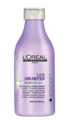 Loreal Expert Liss Unlimited Szampon intensywnie wygładzający - 250ml Do każdego zamówienia upominek gratis.