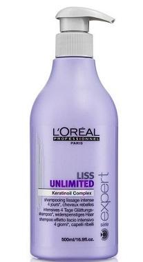 Loreal Expert Liss Unlimited Szampon intensywnie wygładzający - 500ml Do każdego zamówienia upominek gratis.