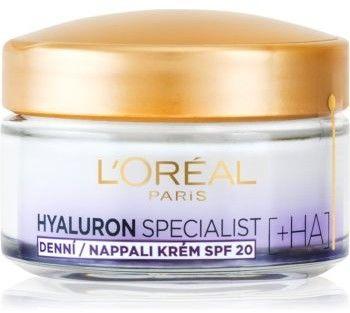 LOréal Paris Hyaluron Specialist wypełniający krem nawilżający SPF 20 50 ml