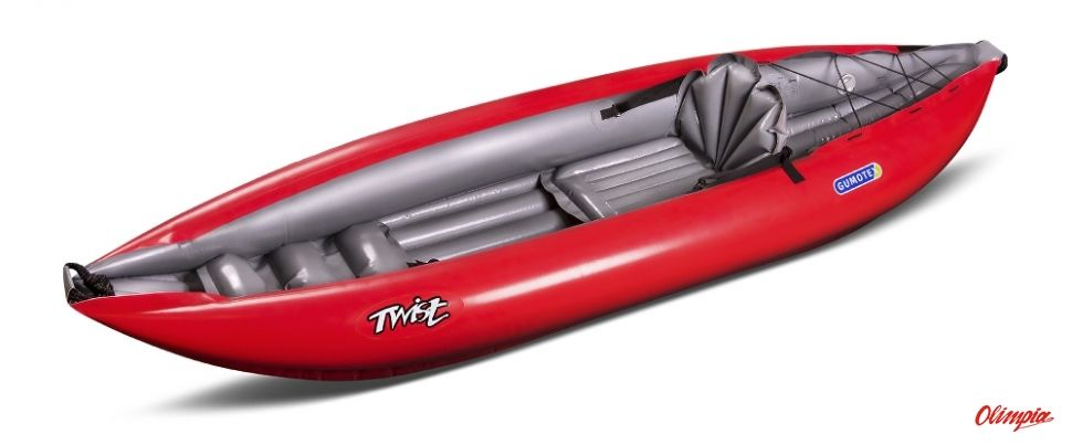 Kajak pompowany Gumotex Twist N 1 czerwony