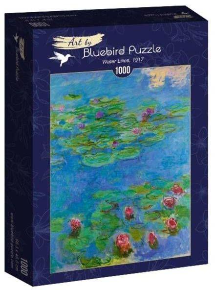 Puzzle 1000 Lilie wodne, Claude Monet1917 - Bluebird Puzzle