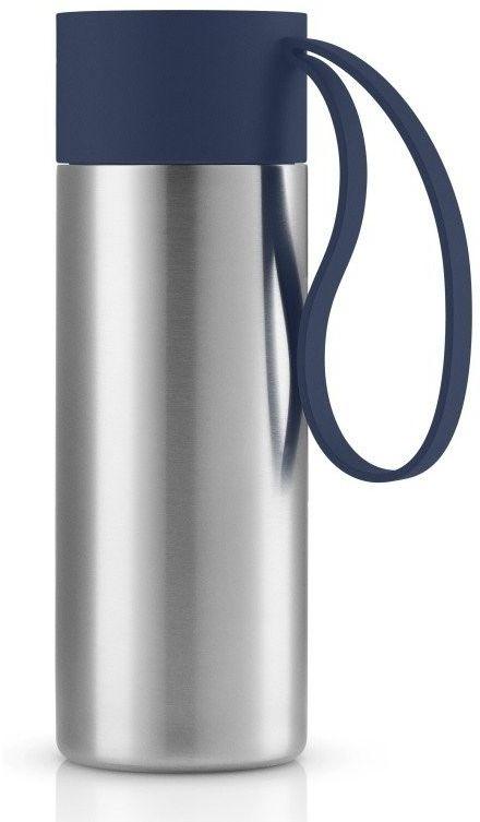Eva solo - kubek termiczny to go cup 0,35l, troczek navy blue