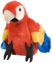 Wild Republic 12249 pluszowa papuga Cuddlekiny, pluszowe zwierzątko, 30 cm, Multi