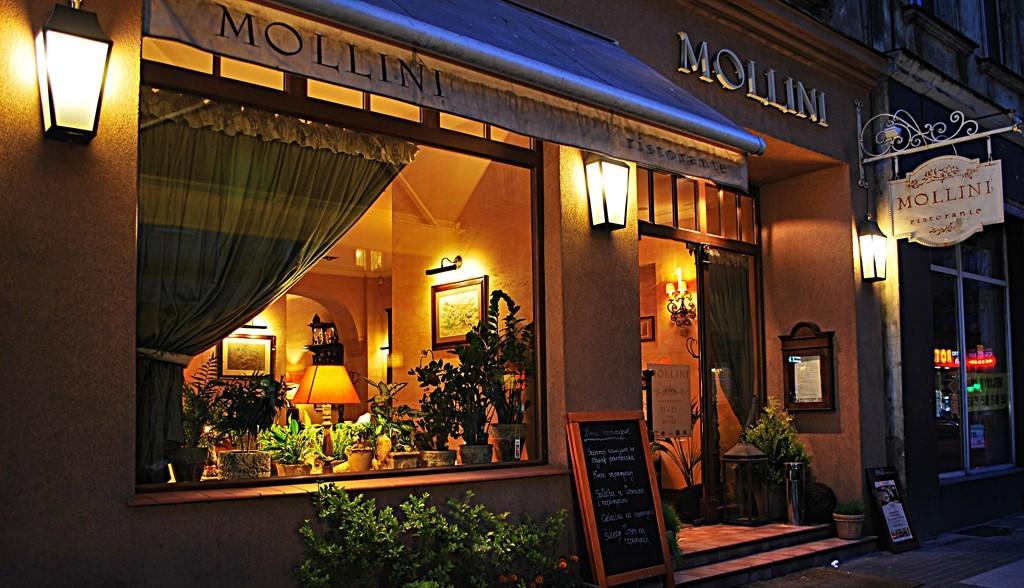 Voucher do włoskiej restauracji Mollini  Poznań