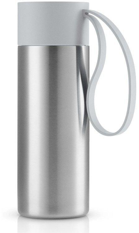 Eva solo - kubek termiczny to go cup 0,35l, troczek marble grey