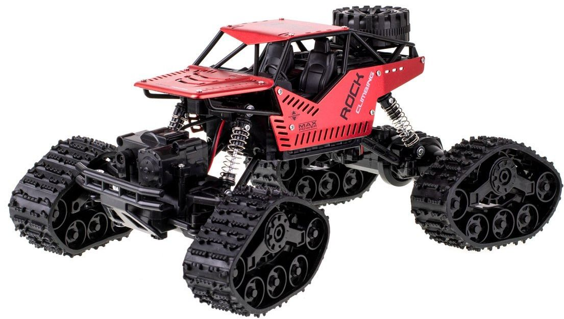 Samochód RC Rock Crawler na gąsienicach 27MHz 4x4 LH-C012