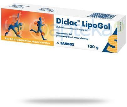 Diclac LipoGel żel 10mg/g 100 g