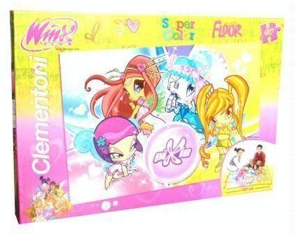 Clementoni  25416  puzzle dla dzieci  puzzle dno 40 części  Winx