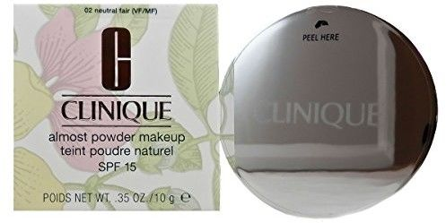 Clinique Almost Powder Makeup podkład w pudrze SPF 15 odcień 02 Neutral Fair 10 g